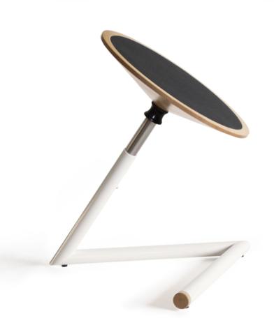 Tabouret oscillant réglable en hauteur ergonomique  - Wigli Just