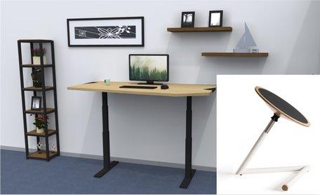 Table de travail réglable standard + Wigli One