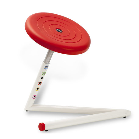 Wigli Junior Soft Seat: tabouret oscillant pout enfants