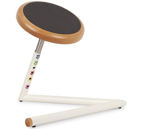 Wigli Junior Wood: tabouret oscillant pour enfants